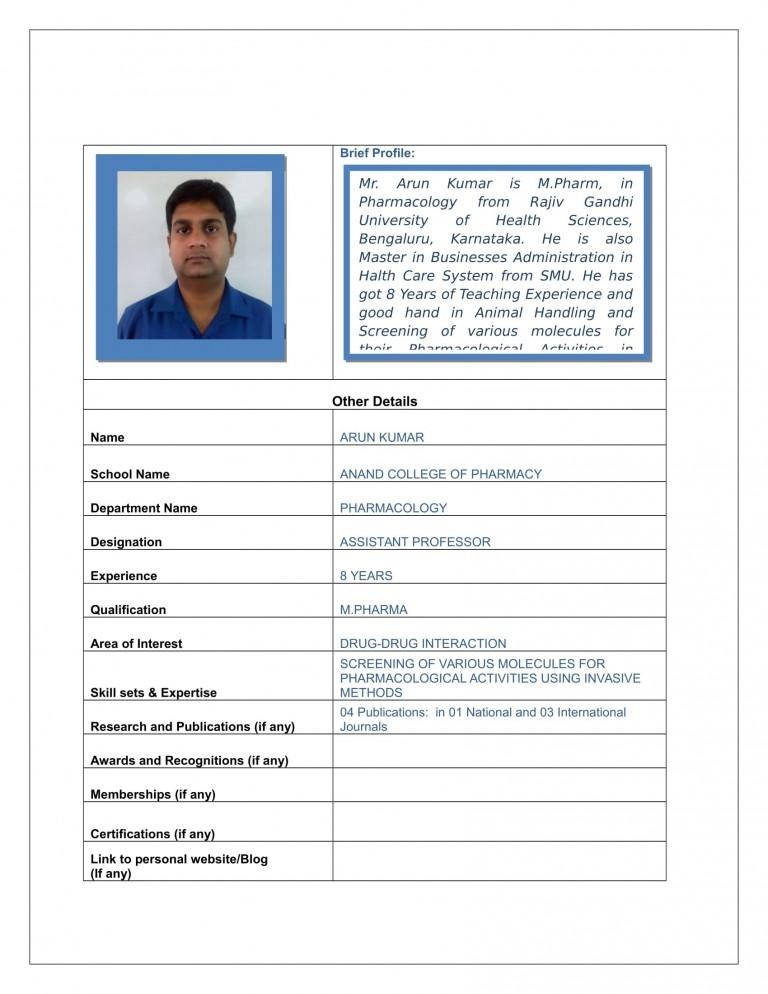 Arun Kumar-1