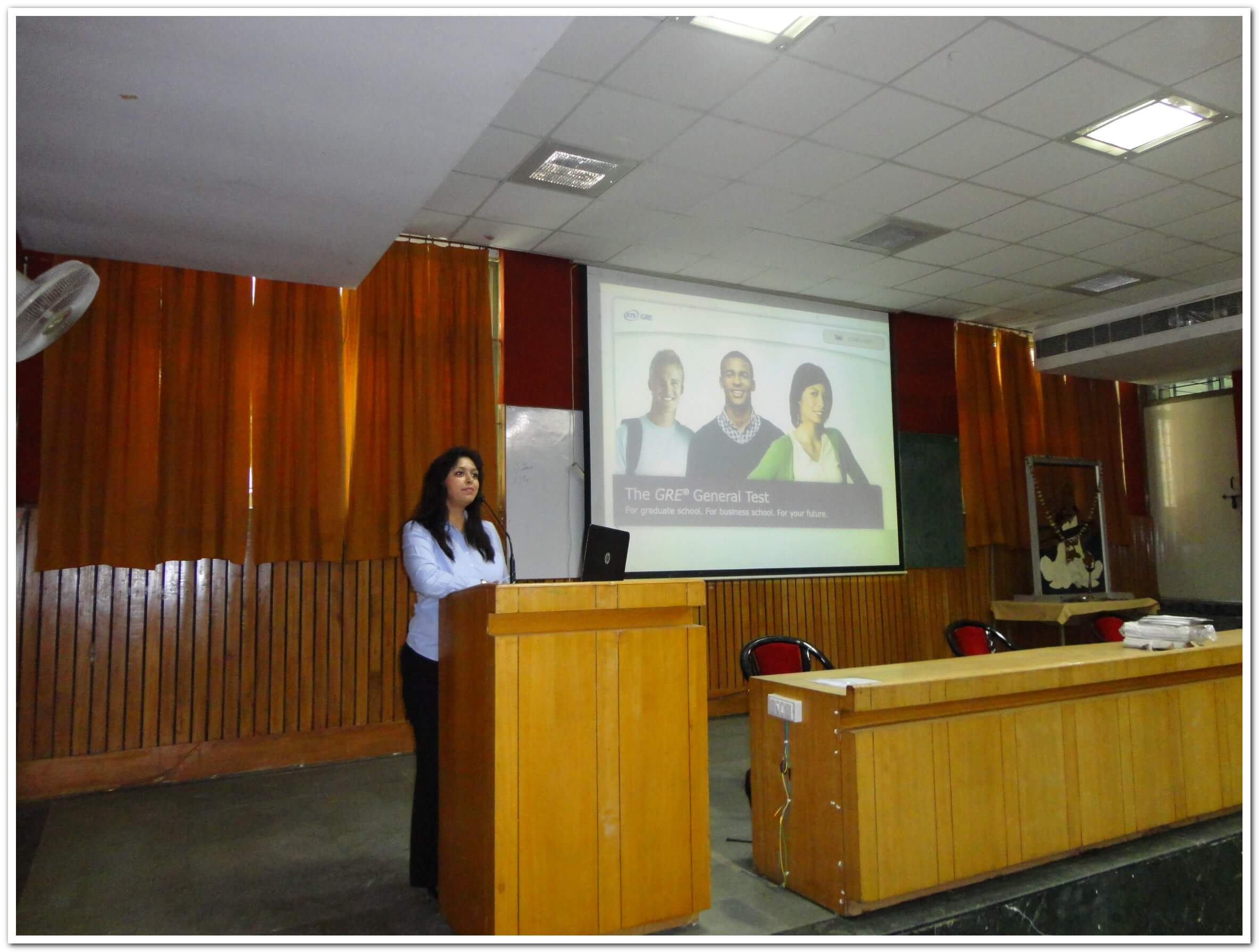 "A Seminar on ""GRE and TOEFL: Opportunities Abroad"" organized by ACP"