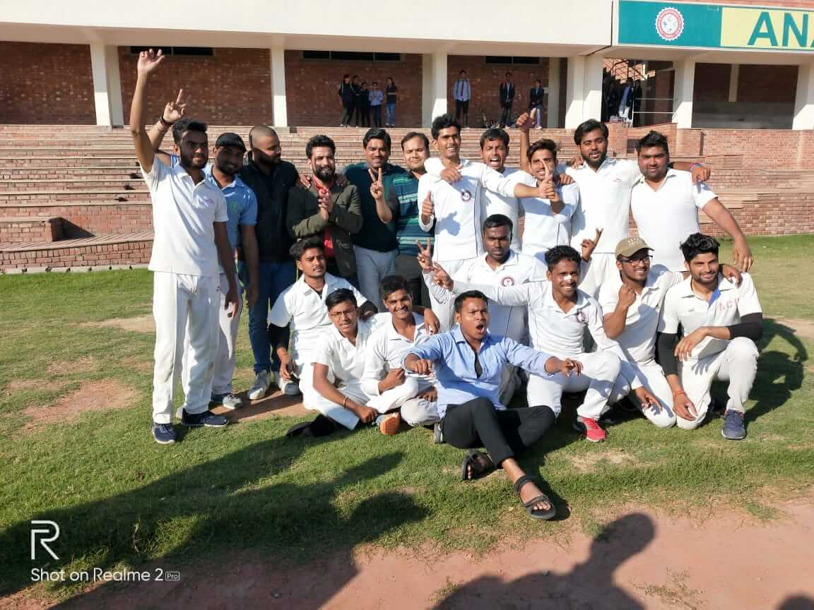 "Victory of ACP Cricket Team in FINAL & Semi-final Cricket Matches in ""Arohan-2019"" sports event"