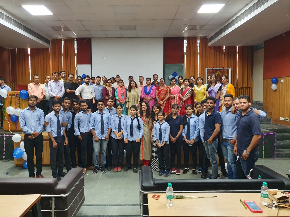 Teacher's Day Celebration at Anand College of Pharmacy on 5th sept 2019
