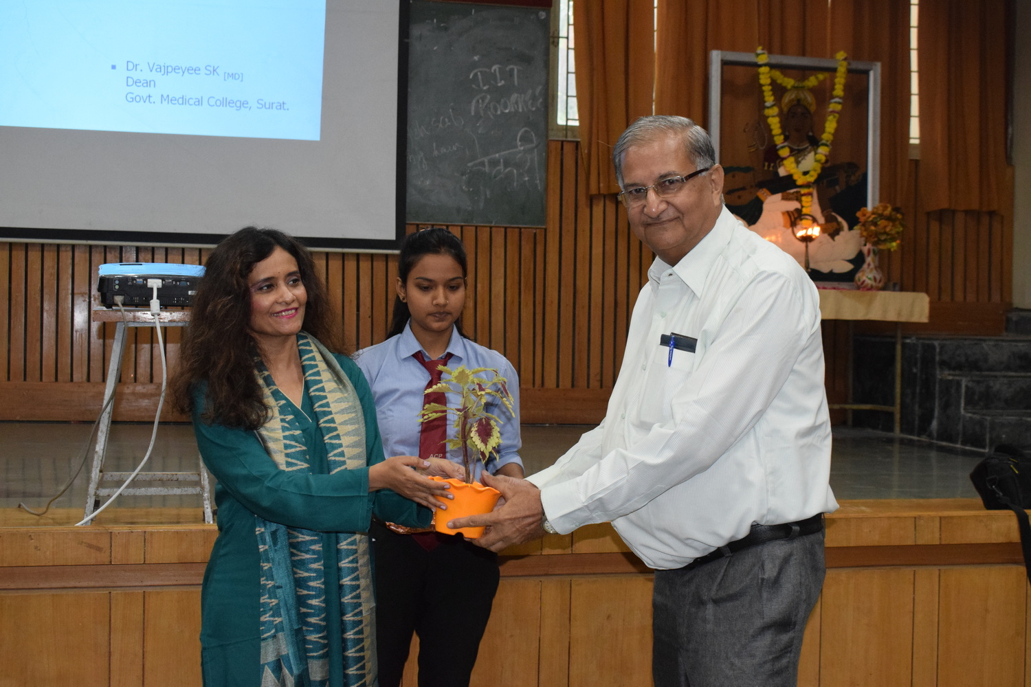 Guest lecture at Anand College of Pharmacy