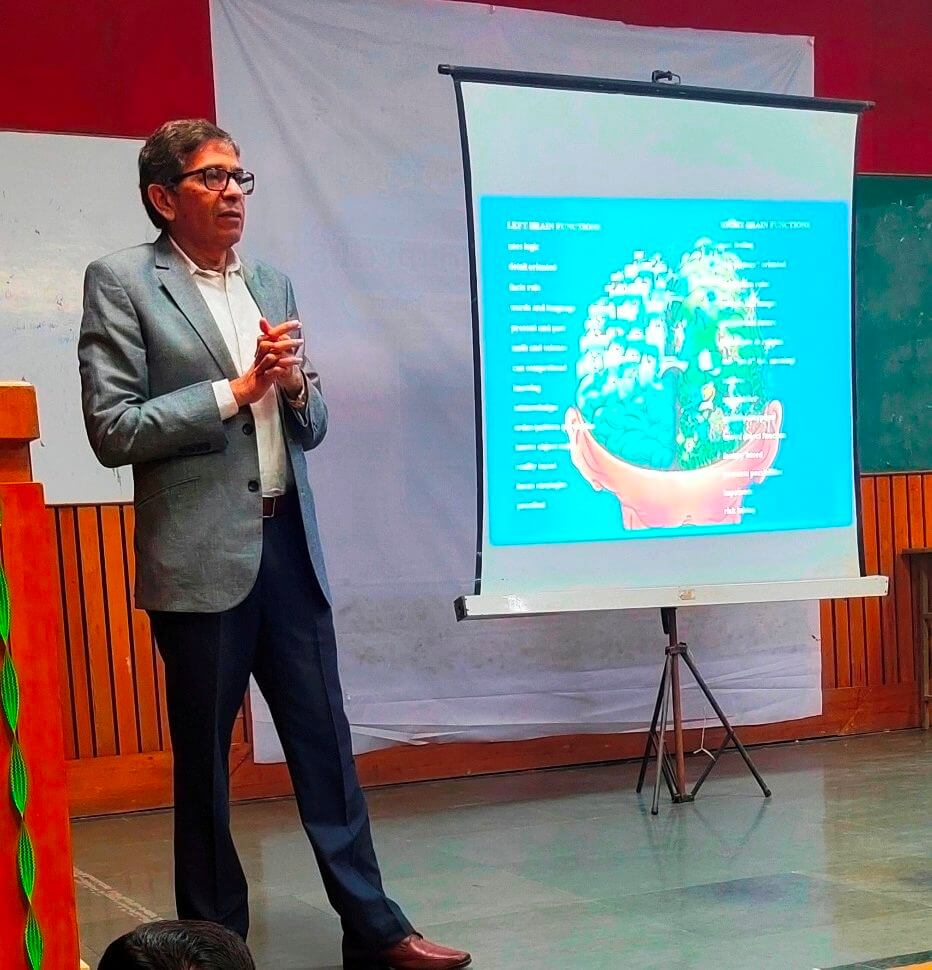 Interactive session on Innovation and ideas at Anand College of Pharmacy as a part of IIC Activities