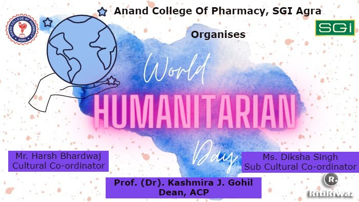 """E-poster competition on """"WORLD HUMANITARIAN DAY 2021"""""""